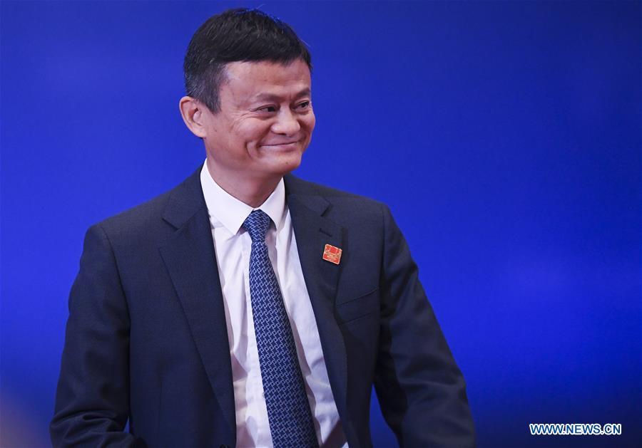 (FinancialView) CHINA-CHONGQING-SMART CHINA EXPO-BIG DATA-SUMMIT-JACK MA (CN)