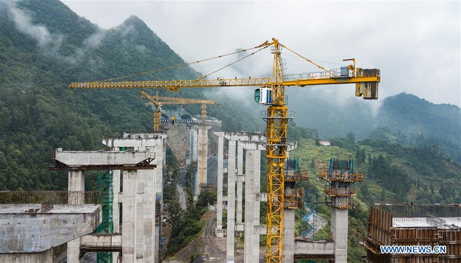 中国 - 贵州 - 高速公路 - 建设(CN)