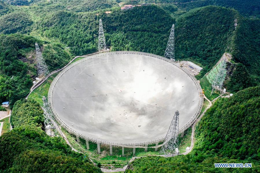 (SCI-TECH)CHINA-GUIZHOU-FAST TELESCOPE-PULSARS (CN)