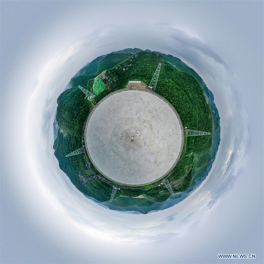 (SCI-TECH)CHINA-GUIZHOU-FAST TELESCOPE-PULSARS (CN)