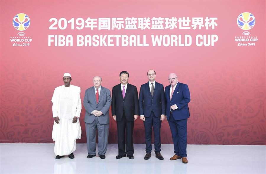 中国 - 北京 - 西金平 -  FIBA主席 - 会议(CN)
