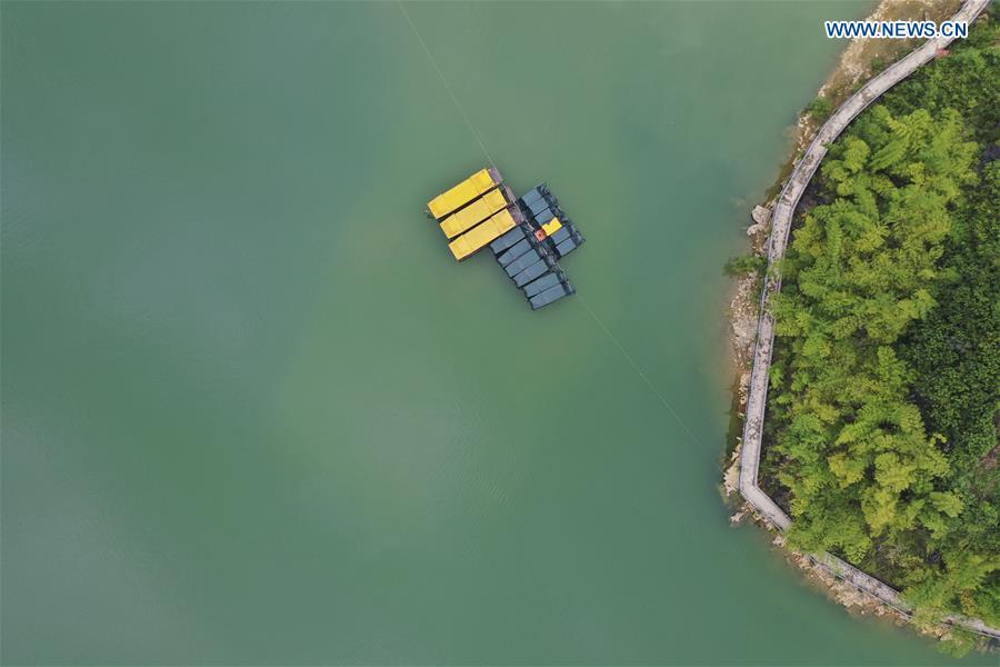 CHINA-GUANGXI-HAOKUN LAKE-SCENERY(CN)