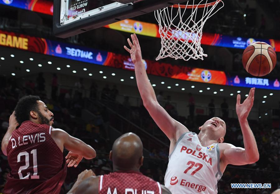 (SP)CHINA-BEIJING-BASKETBALL-FIBA WORLD CUP-GROUP A-POLAND VS VENEZUELA(CN)