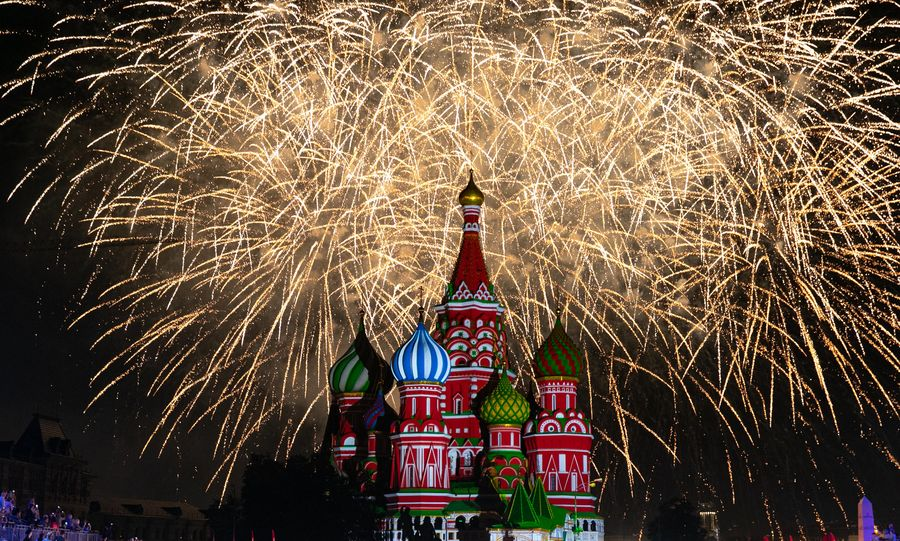 Tackling political challenges, Russia charts path of development - Xinhua   English.news.cn