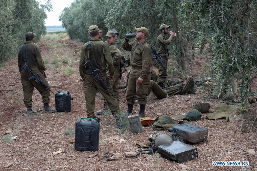 In pics: Israeli soldiers seen near Israel-Lebanon border