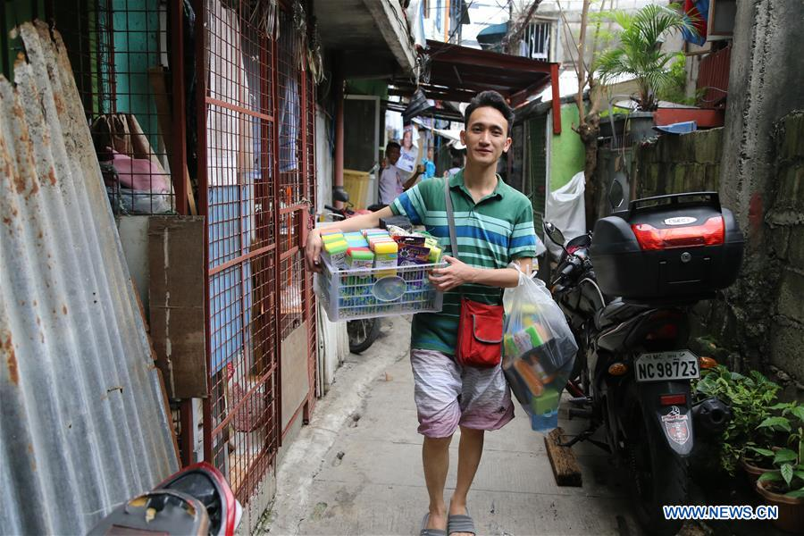 THE PHILIPPINES-MANILA-SPONGE BOY-CHINA-SCHOLARSHIP