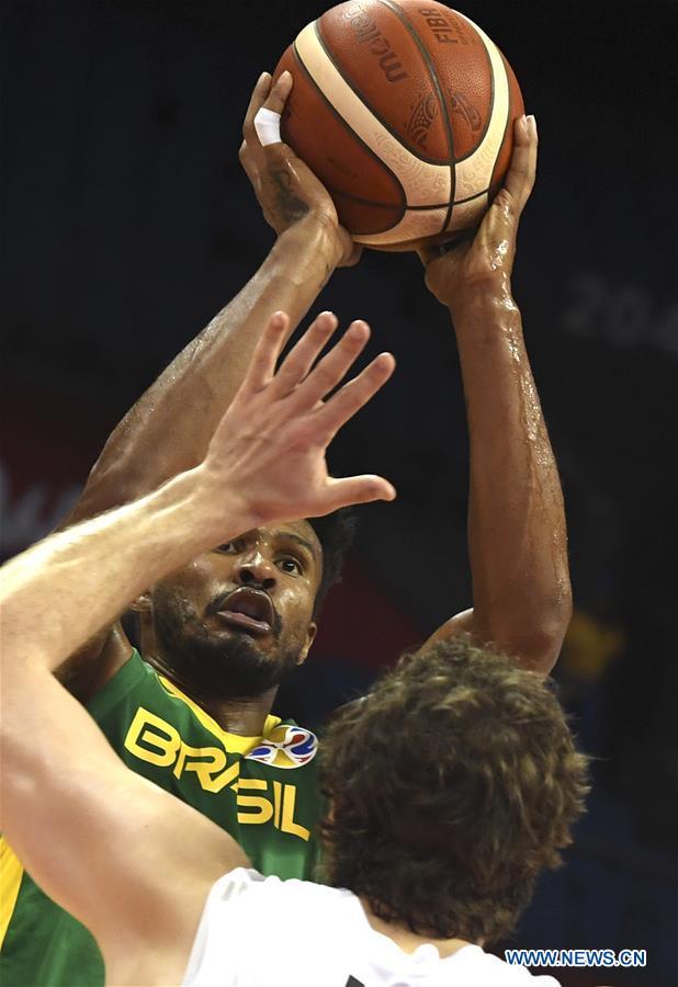 (SP)CHINA-NANJING-BASKETBALL-FIBA WORLD CUP-GROUP F-BRAZIL VS新西兰(CN)