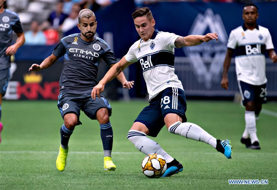 Regular season match between New York City FC and Vancouver