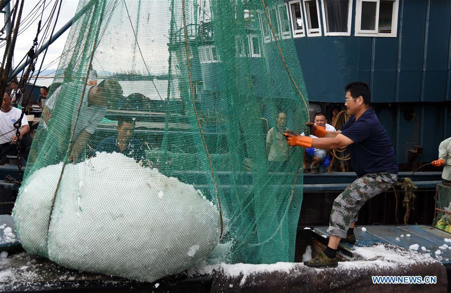 CHINA-SHANDONG-RIZHAO-FISHING SEASON (CN)