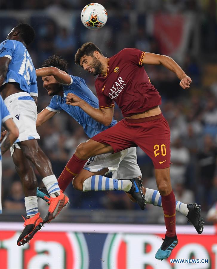 (SP)ITALY-ROME-SERIE A-LAZIO VS ROMA