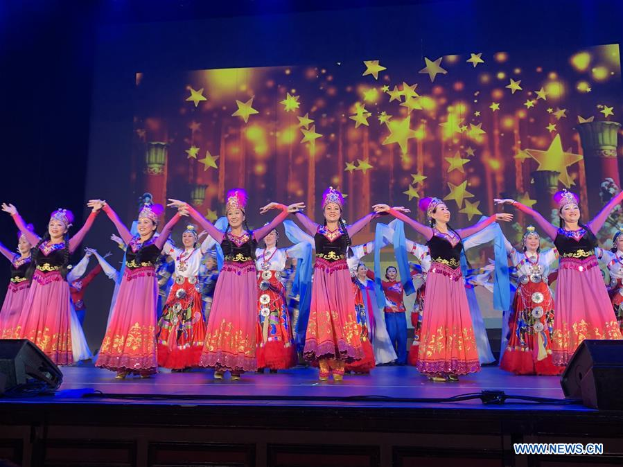 U.S.-LOS ANGELES-70TH ANNIVERSARY OF PRC FOUNDING-ART PERFORMANCES