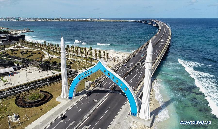 MALDIVES-MALE-CHINA-MALDIVES FRIENDSHIP BRIDGE