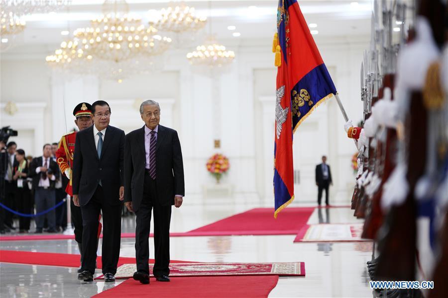 CAMBODIA-PHNOM PENH-PRIME MINISTER-MALAYSIA-MEETING