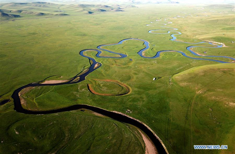 CHINA-INNER MONGOLIA-HULUNBUIR-AERIAL VIEW (CN)