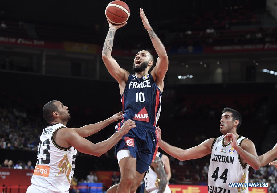 nouveau style dc8a3 f8ef9 FIBA World Cup group G match: France vs. Jordan - Xinhua ...