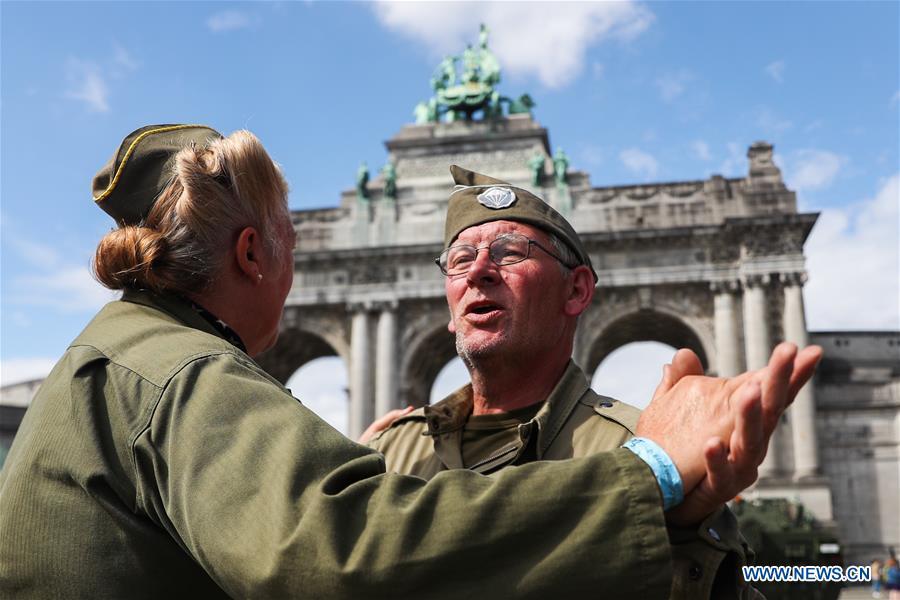 比利时 - 布鲁塞尔 - 二战解放,CELEBRATIONS