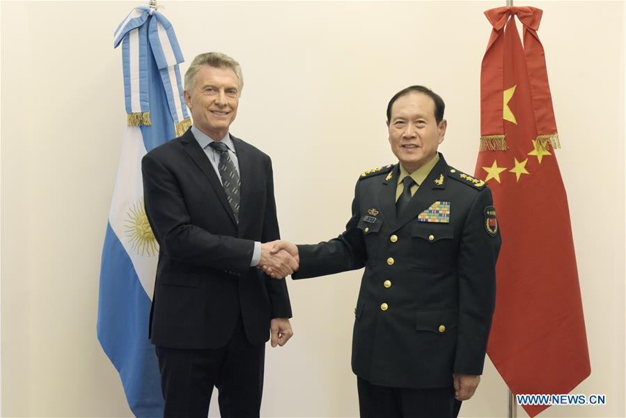 阿根廷 - 布宜诺斯艾利斯 - 中国国防部长会议