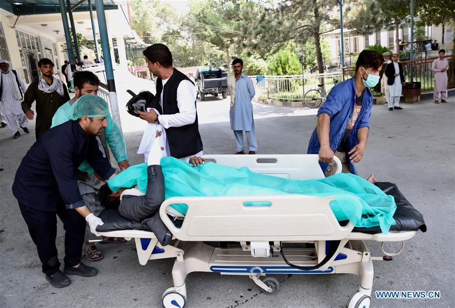阿富汗喀布尔爆炸