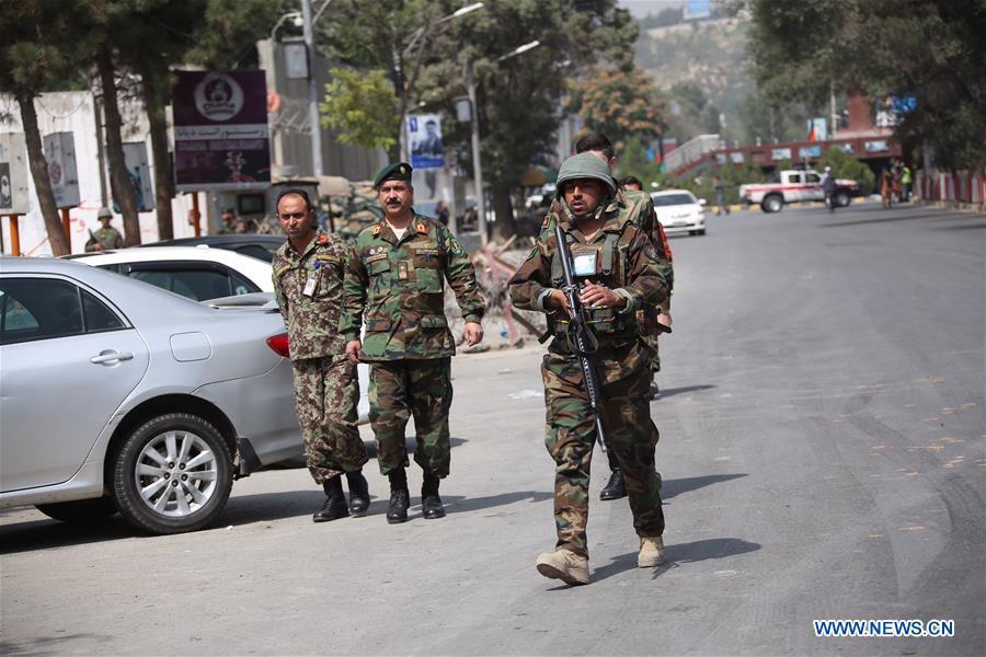 阿富汗 - 卡布尔 - 汽车炸弹爆炸