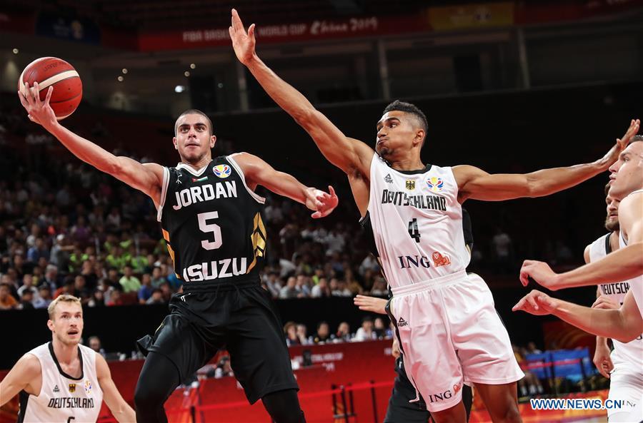 (SP)中国 - 深圳-BASKETBALL-FIBA世界杯组G-GER VS JOR(CN)