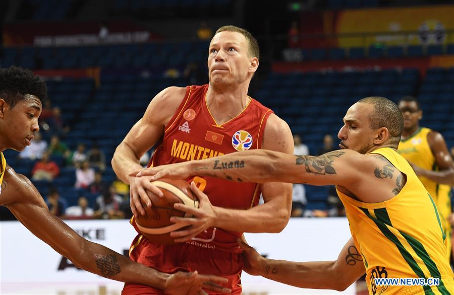 (SP)CHINA-NANJING-BASKETBALL-FIBA WORLD CUP-GROUP F-BRA VS MNE(CN)