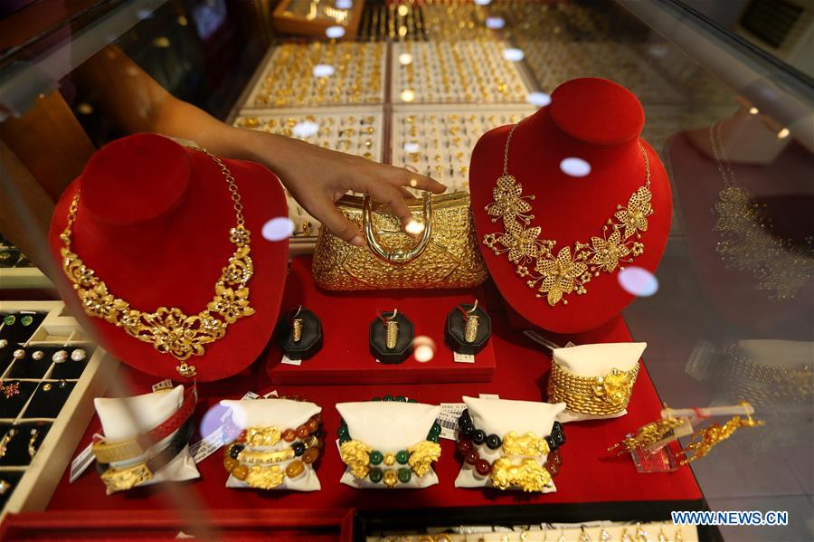 MYANMAR-YANGON-GOLD PRICE-RECORD HIGHT