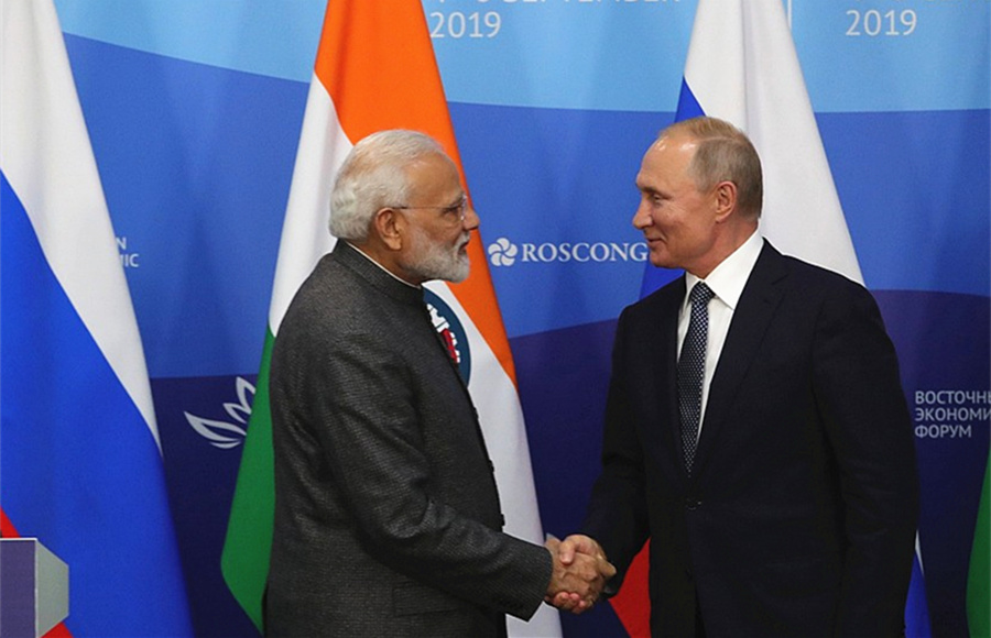 India to provide 1 bln USD credit line to Russian Far East - Xinhua | English.news.cn