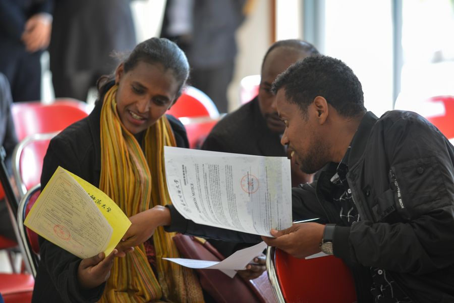 """The right investment"": Over 220 Ethiopians going to China for long-term degree programs this year - Xinhua 