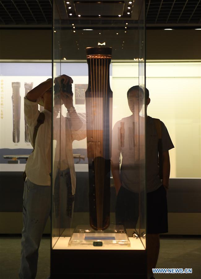 中国 - 浙江 - 杭州 - 古琴 - 展览(CN)