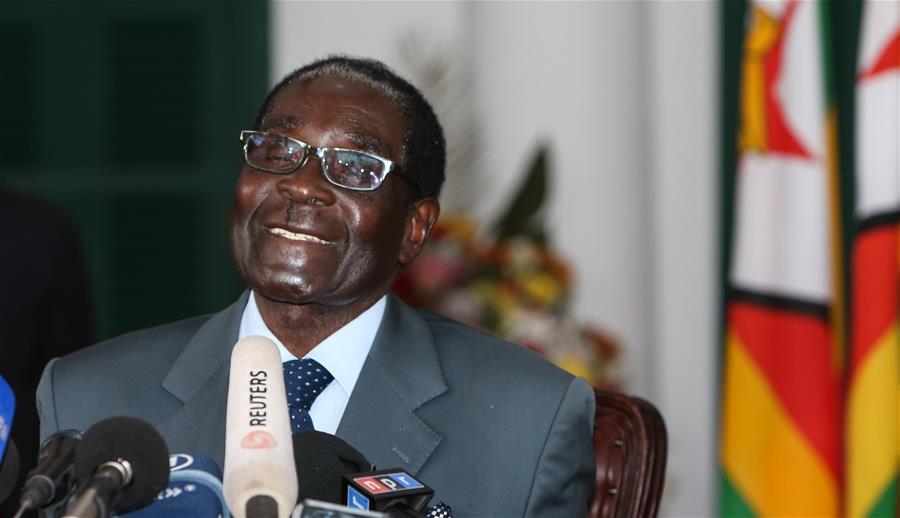 津巴布韦穆加贝死亡