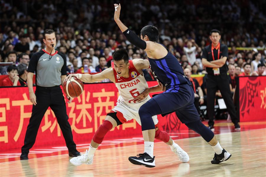 (SP)CHINA-GUANGZHOU-BASKETBALL-FIBA WORLD CUP-GROUP M-CHN VS KOR(CN)