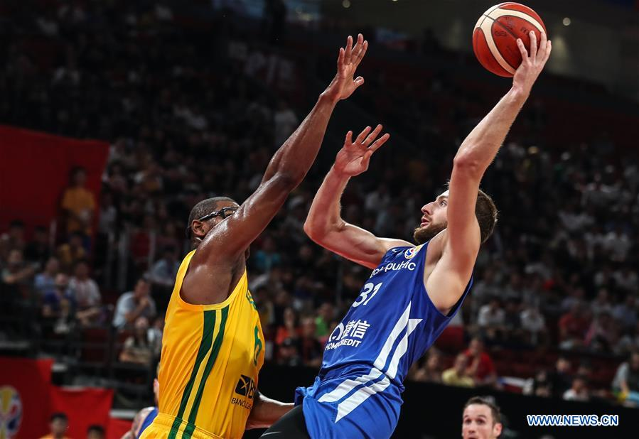 (SP)中国 - 深圳-BASKETBALL-FIBA世界杯组K-BRA VS CZE(CN)