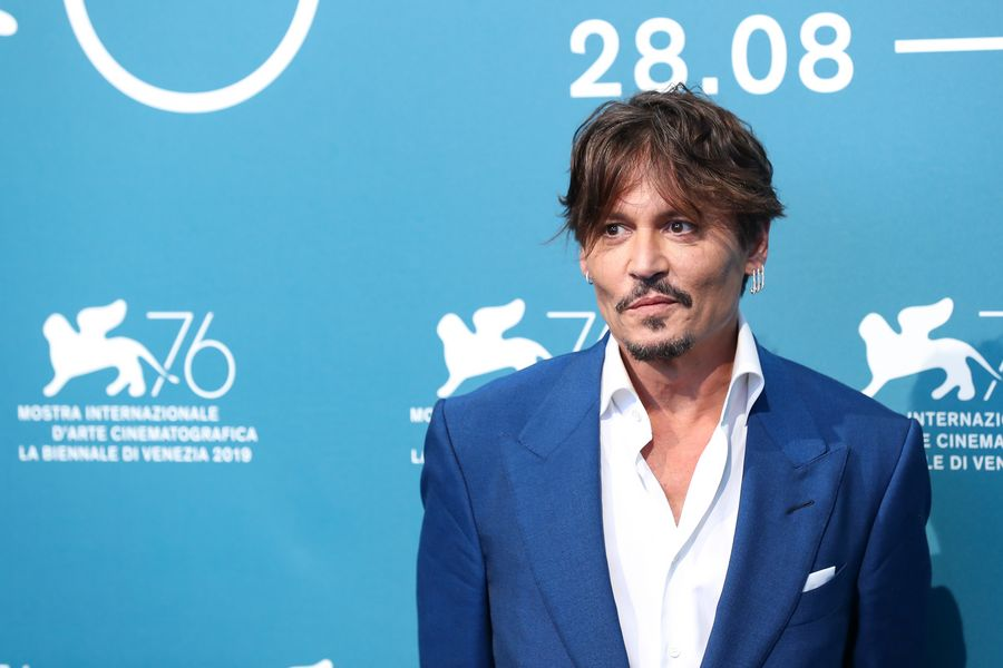 hollywood movie e 2019 Johnny Depp At Venice Film Festival 2019 Xinhua English