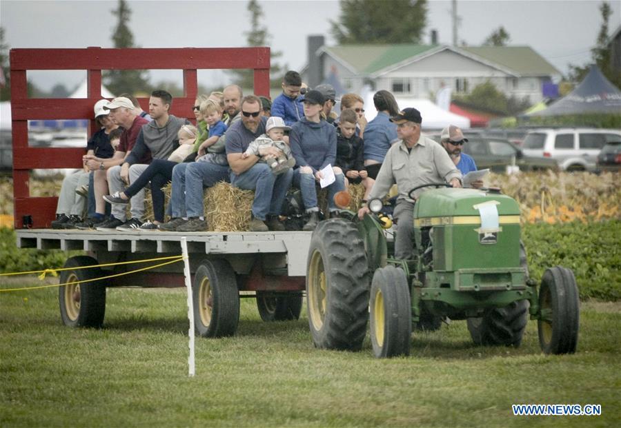 """加拿大 - 三角洲 - """"农场的一天""""农业博览会"""