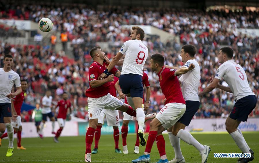 (SP)英国 - 伦敦 - 足球 - 欧洲足联2020年欧洲资格赛 - 英格兰队和保加利亚队