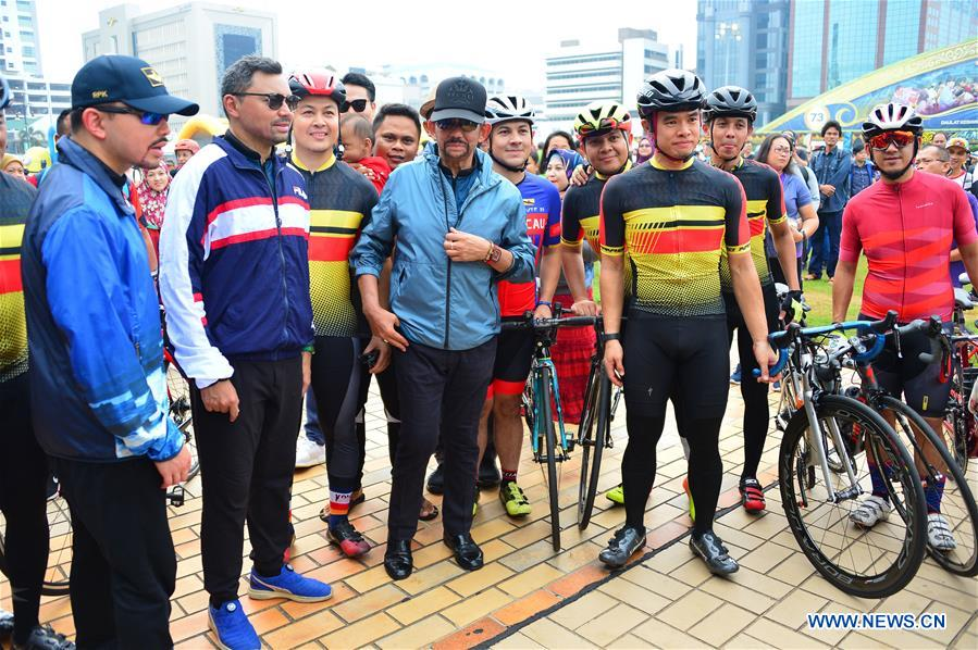 BRUNEI-BANDAR SERI BEGAWAN-SULTAN-CYCLING RECREATION EVENT