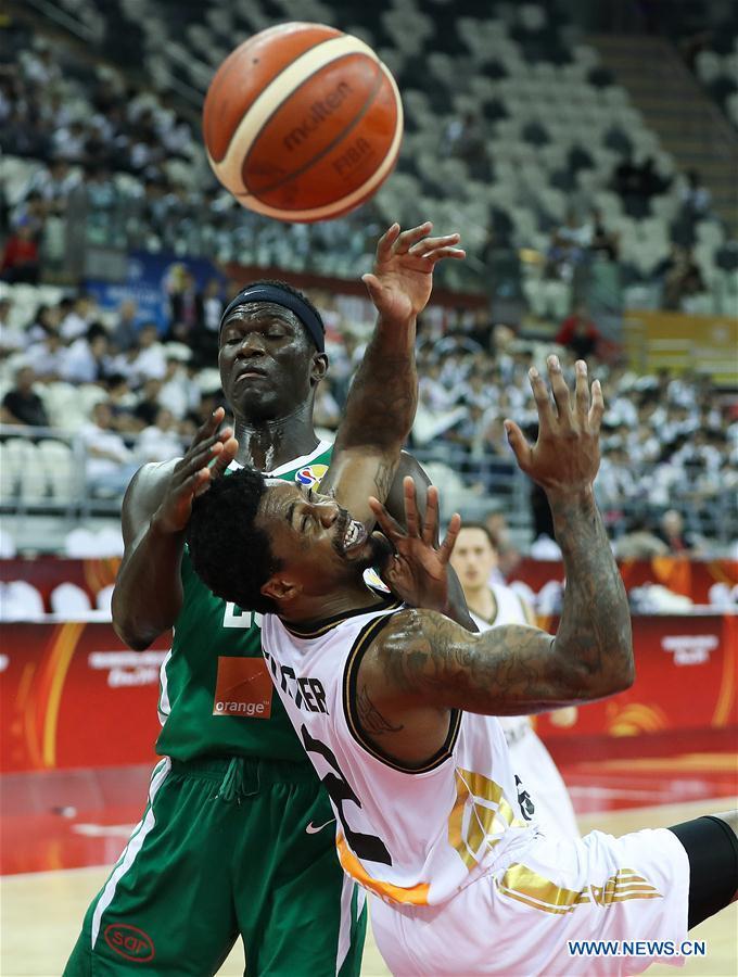 (SP)CHINA-SHANGHAI-BASKETBALL-FIBA WORLD CUP-GROUP P-JORDAN VS塞内加尔(CN)