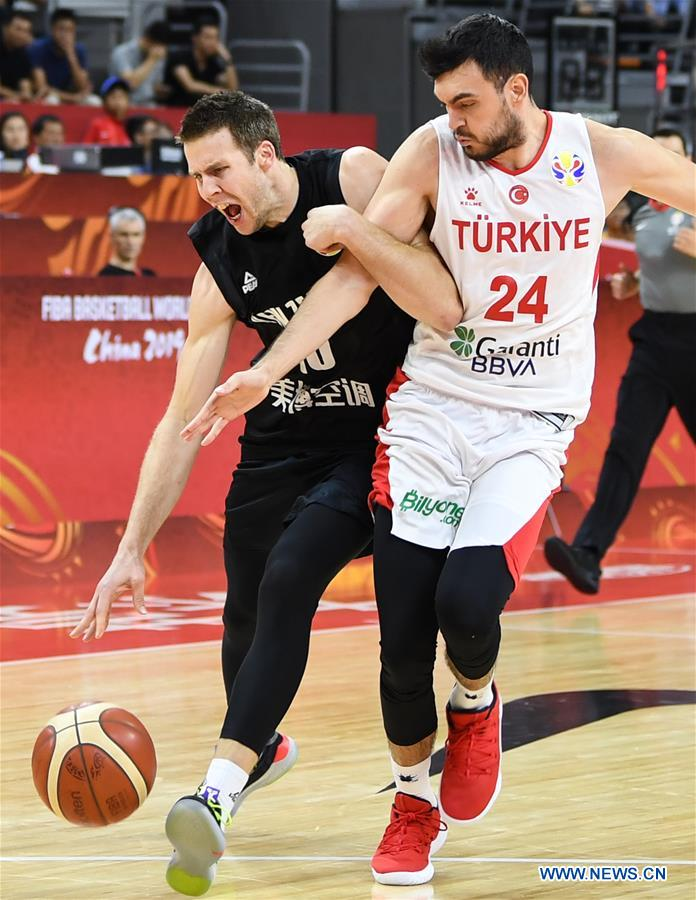 (SP)CHINA-DONGGUAN-BASKETBALL-FIBA WORLD CUP-NEW ZEALAND VS TURKEY(CN)