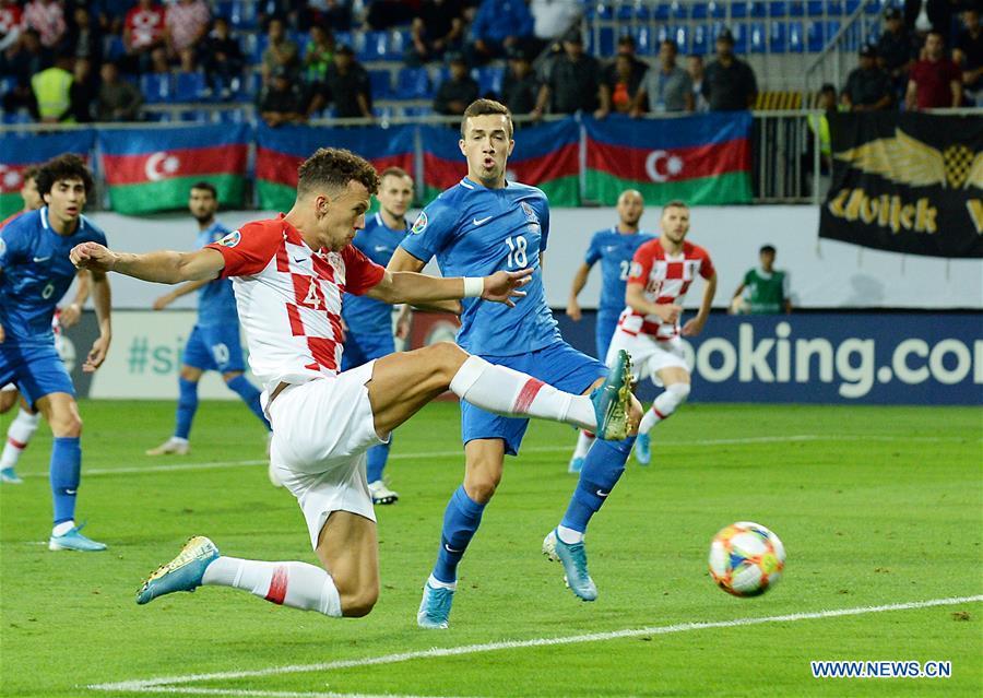 (SP)AZERBAIJAN-BAKU-FOOTBALL-UEFA-EUROPEAN QUALIFIERS