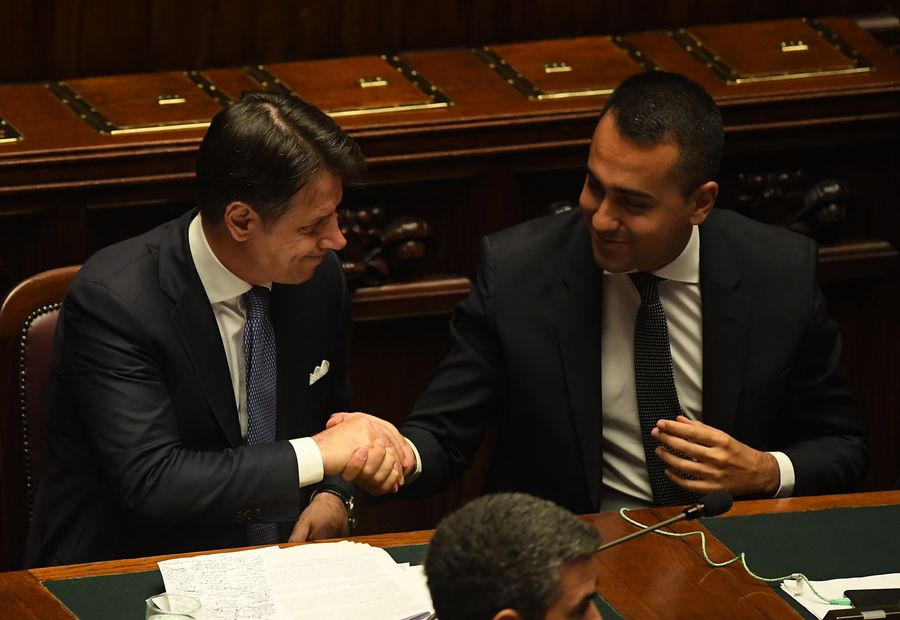 New-generation leader: Italy's youngest minister of foreign affairs, Luigi Di Maio - Xinhua | English.news.cn