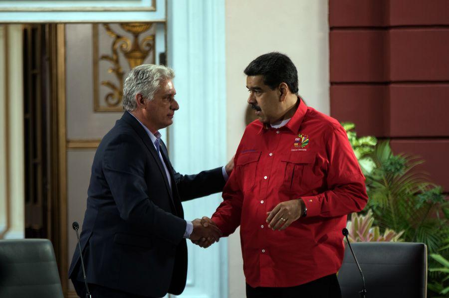 Cuba launches anti-Trump signature drive in solidarity with Venezuela - Xinhua | English.news.cn