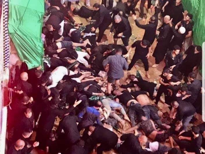 31 Shiite pilgrims killed, 100 wounded in stampede in Iraq's