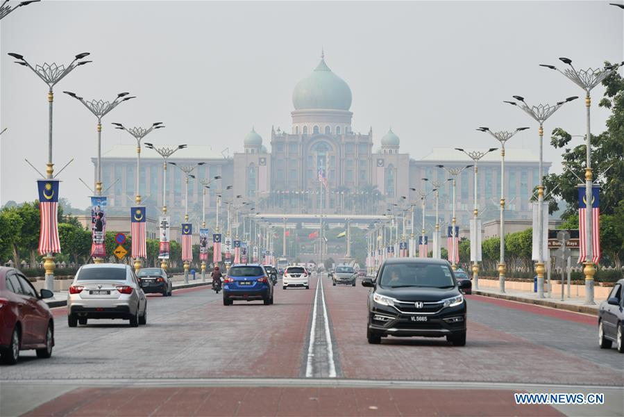 马来西亚 - 空气污染 - 云层种子