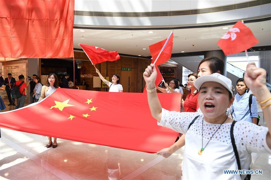 CHINA-HONG KONG-FLASH MOB(CN)