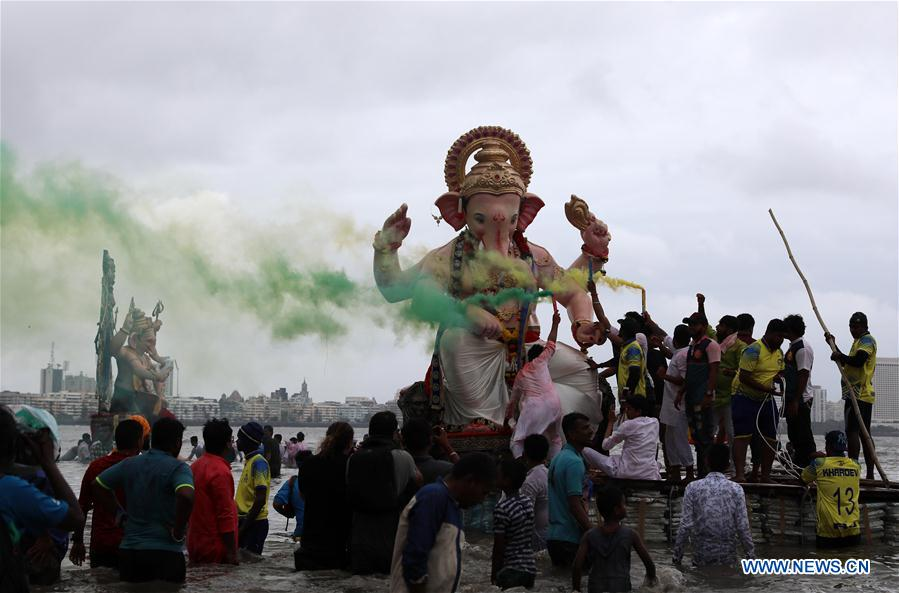 Celebration Of Ganesh Chaturthi Festival Held In Mumbai