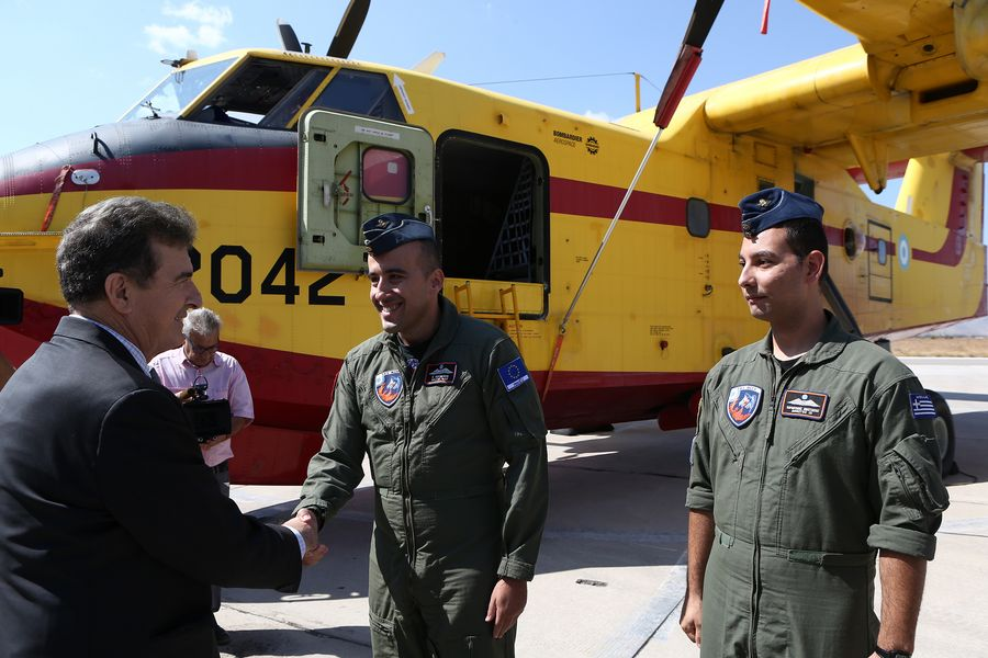 Greece joins RescEu's mechanism against natural disasters with two fire-fighting aircraft - Xinhua | English.news.cn