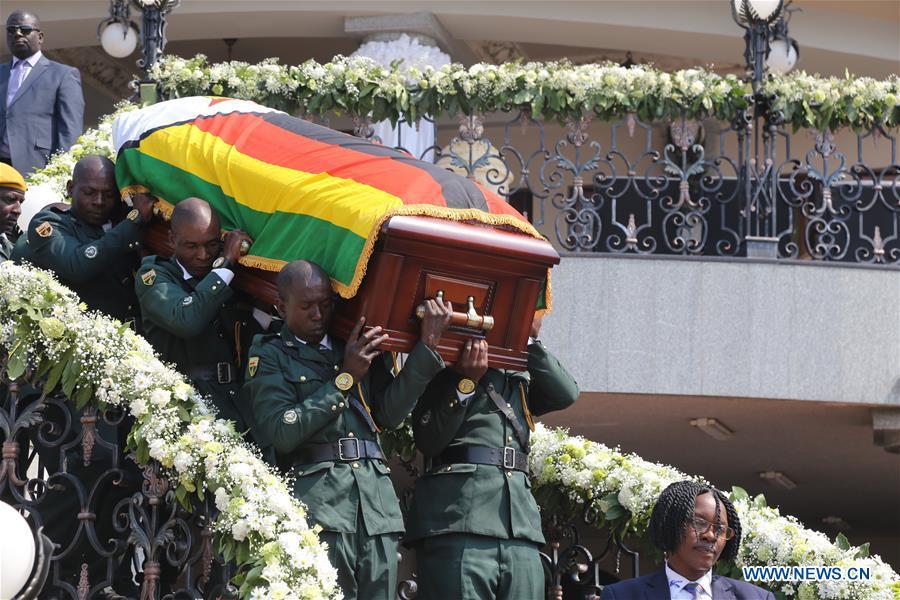 ZIMBABWE-HARARE-LATE MUGABE-FUNERAL