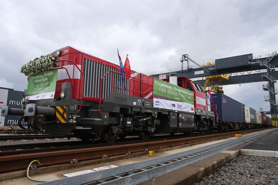 China sees expanding China-Europe freight rail services - Xinhua | English.news.cn