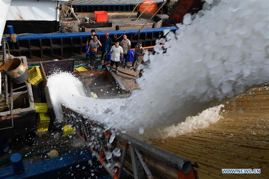 CHINA-ZHEJIANG-NINGBO-FISHING SEASON (CN)