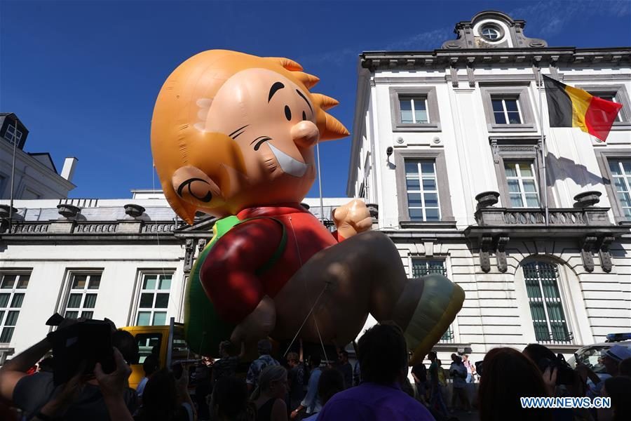 BELGIUM-BRUSSELS-BALLOON'S DAY PARADE